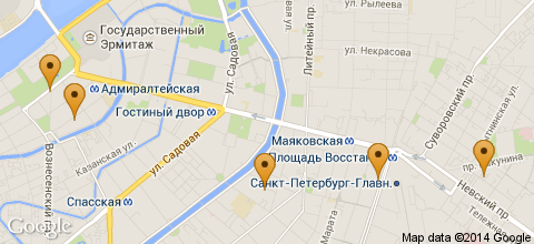 Гостиницы Санкт-Петербурга
