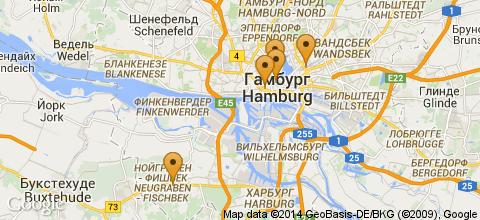 Отели Гамбурга